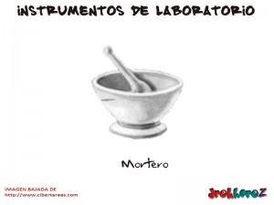 Mortero-Instrumentos de Laboratorio