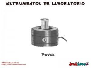 Parrilla-Instrumentos de Laboratorio