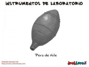 Pera de Hule-Instrumentos de Laboratorio