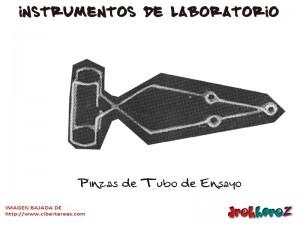 Pinzas de Tubo de Ensayo-Instrumentos de Laboratorio