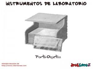 Porta Objetos-Instrumentos de Laboratorio