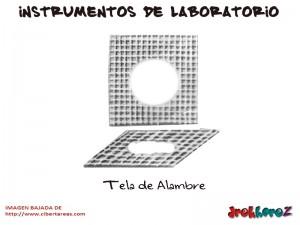 Tela de Alambre-Instrumentos de Laboratorio