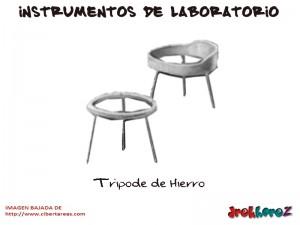 Tripode de Hierro-Instrumentos de Laboratorio