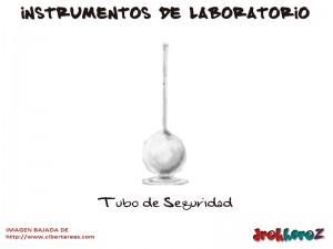 Tubo de Seguridad-Instrumentos de Laboratorio