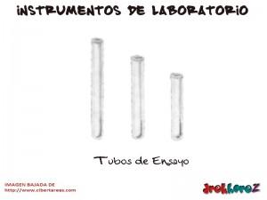 Tubos de Ensayo-Instrumentos de Laboratorio