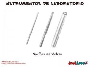 Varillas de Vidrio-Instrumentos de Laboratorio