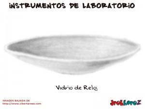 Vidrio de Reloj-Instrumentos de Laboratorio