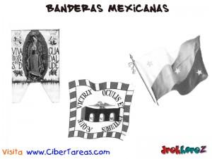 Banderas Mexicanas-1