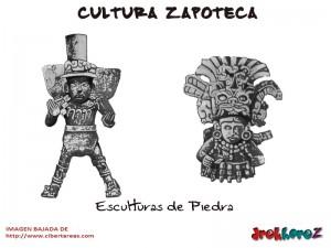Esculturas de Piedra-Cultura Zapoteca