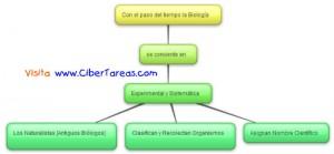 Experimental y Sistematica - Mapa Conceptual - Biologia 1