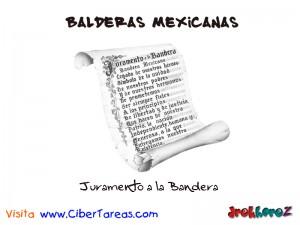 Juramento a la Bandera-Banderas Mexicanas