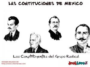 Los Constituyentes del Grupo Radical-Las Constituciones de Mexico