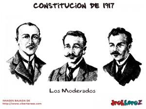 Los Moderados-Constitucion de 1917