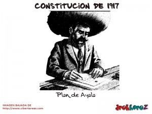 Plan de Ayala-Constitucion de 1917