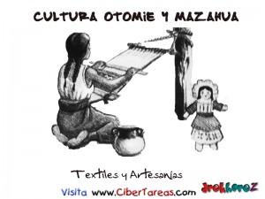 Textiles y Artesanias-Cultura Otomie y Mazahua