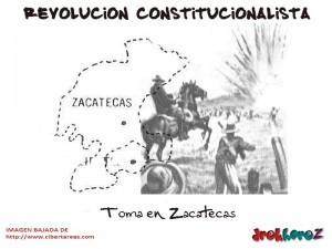 Toma en Zacatecas-Revolucion Constitucionalista