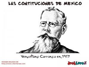 Venustiano Carranza-Las Constituciones de Mexico