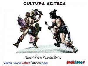 Sacrificio Gladiatorio-Cultura Azteca