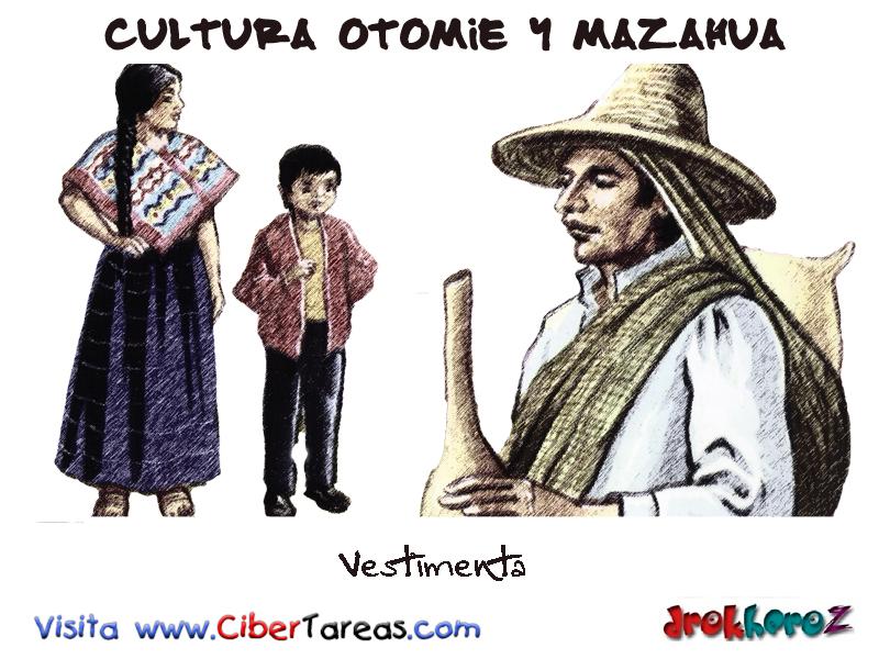 Vestimenta-Cultura Otomie y Mazahua