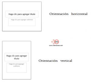 configurar pagina diapositivas powerpoint 2010 orientacion diapositiva horizontal vertical configuracion