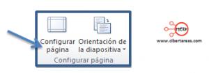 configurar pagina diapositivas powerpoint 2010 pagina