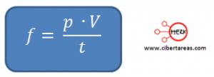 formula flujo fisica 2 liquidos 3