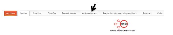 Como insertar animaciones en powerpoint 2010
