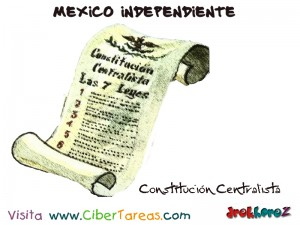Constitucion Centralista-Mexico Independiente