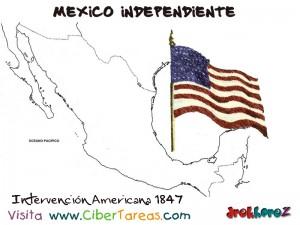 Intervecion Americana 1847-Mexico Independiente