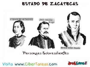 Personajes Sobresalientes 2-Estado de Zacatecas