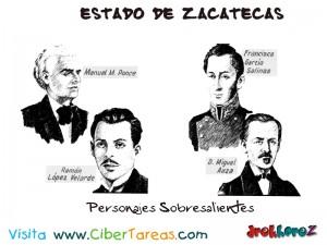 Personajes Sobresalientes-Estado de Zacatecas