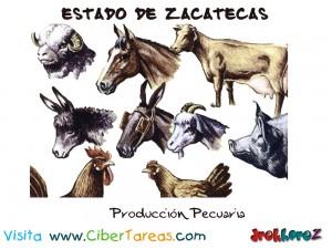 Produccion Pecuaria-Estado de Zacatecas