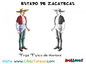 Traje Tipico de Hombre-Estado de Zacatecas