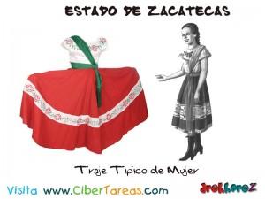 Traje Tipico de Mujer-Estado de Zacatecas 2