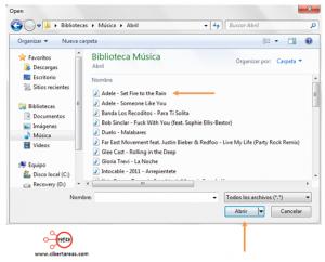 convertir archivos de musica atube cather wav