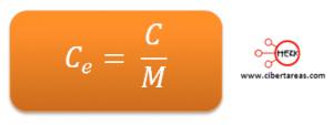 formula calor especifico