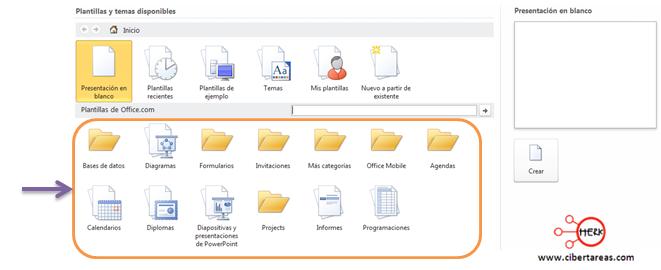 descargar plantillas para powerpoint 2010 cibertareas