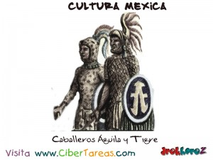 Aguila y Tigre Caballeros-Cultura Mexica