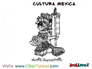 Huitzilopochtli-Cultura Mexica