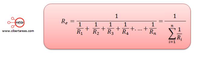 conexion de resistores en paralelo formula general