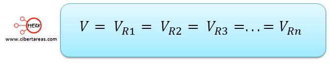 conexion de resistores en paralelo la formula