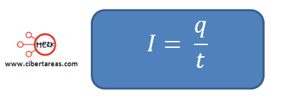 corriente electrica formula