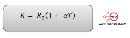 formula de la ley de ohm