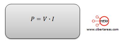 formula potencia electrica