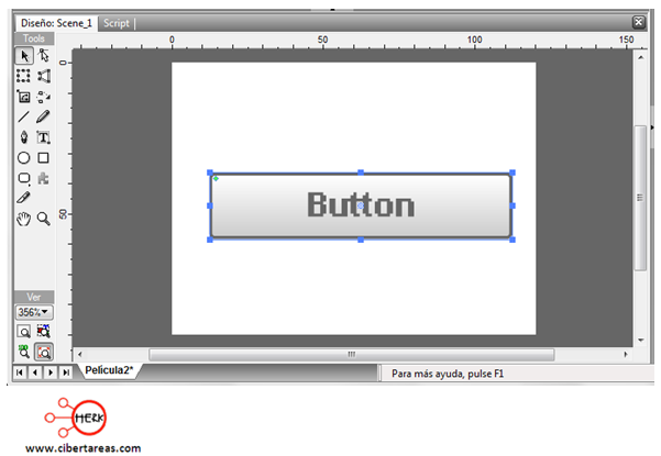 manual de swishmax para crear un boton 3