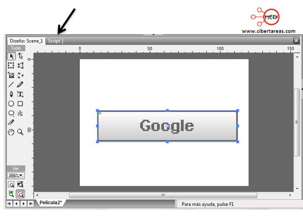 manual de swishmax para crear un boton 7