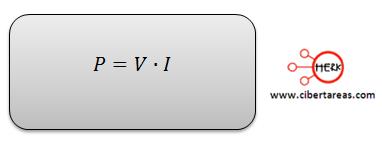 potencia electrica formulas varias