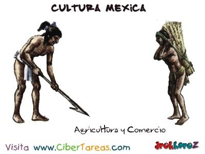 Agricultura y Comercio-Cultura Mexica.