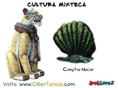 Concha Nacar-Cultura Mixteca