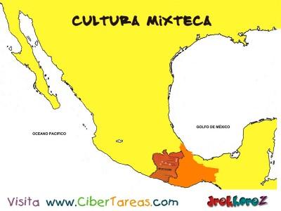 Mapa-Cultura Mixteca